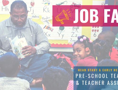 Job Fair – Pre-School Teacher & Assistant Teacher