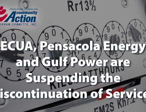ECUA, Pensacola Energy and Gulf Power are Suspending the Discontinuation of Services